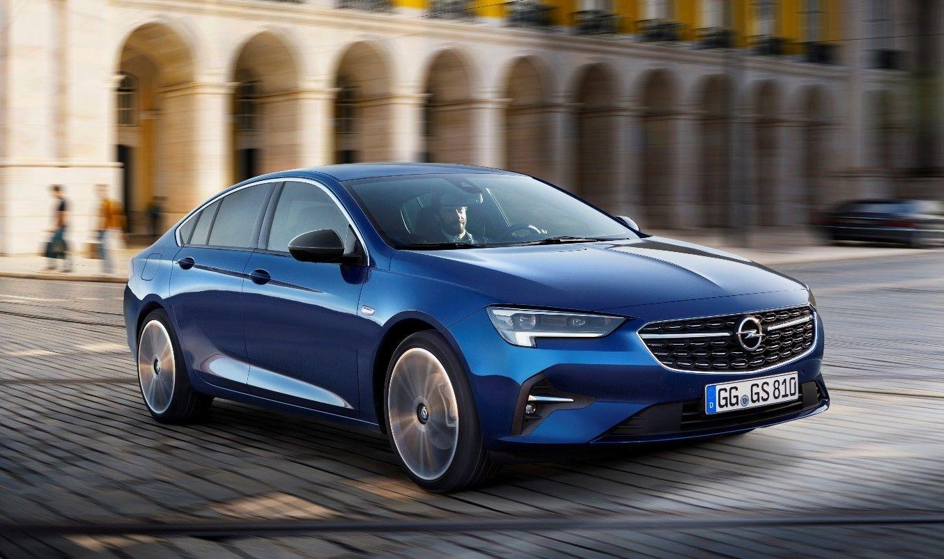El Opel Insignia brilla con un nuevo aspecto