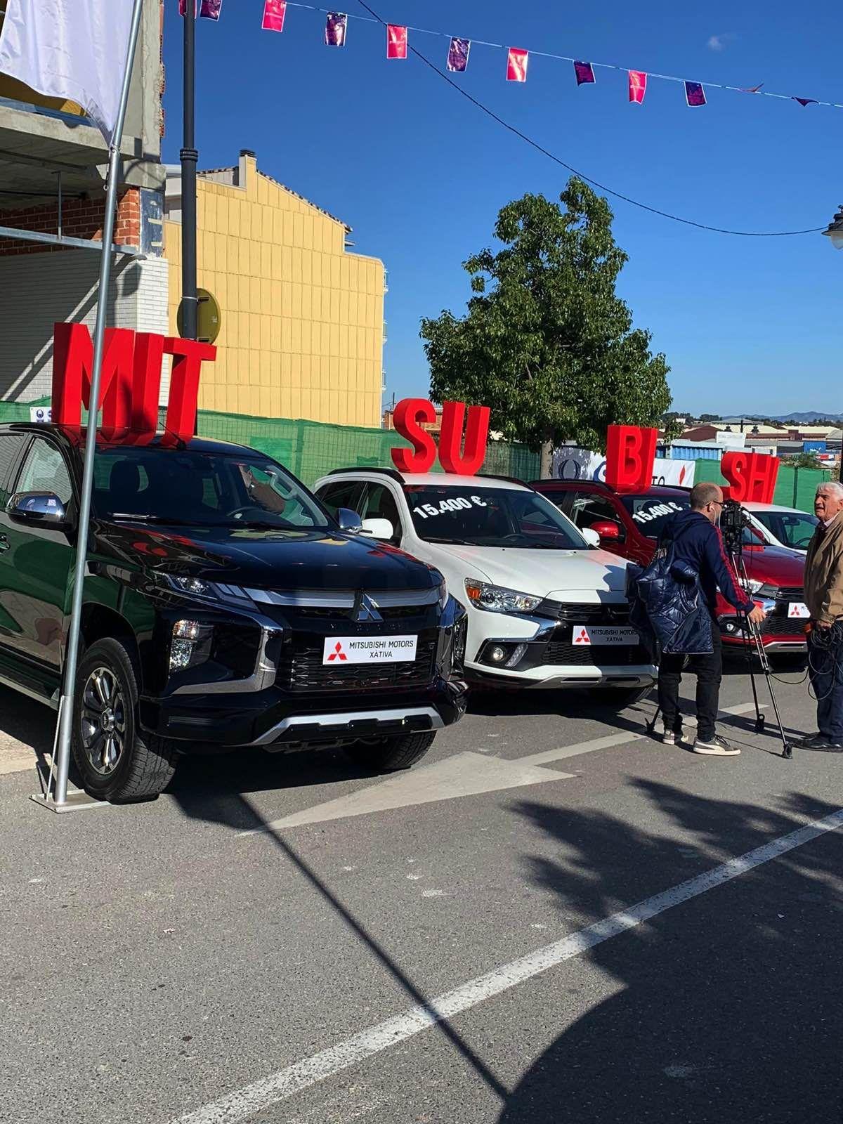 Mitsubishi Levante presente en la Feria de Onteniente