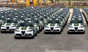 Alfa Romeo y el Cuerpo de Guardia Civil una historia duradera