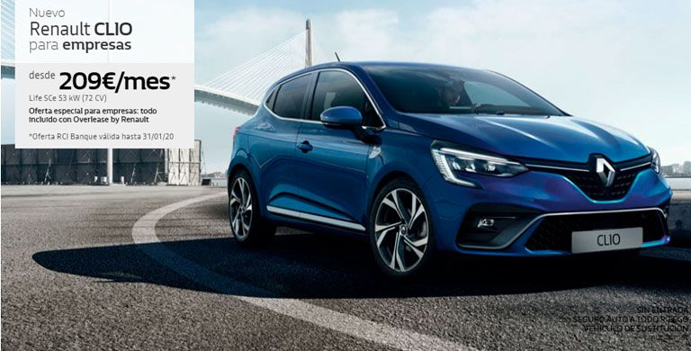 Nuevo Renault Clio para Empresas