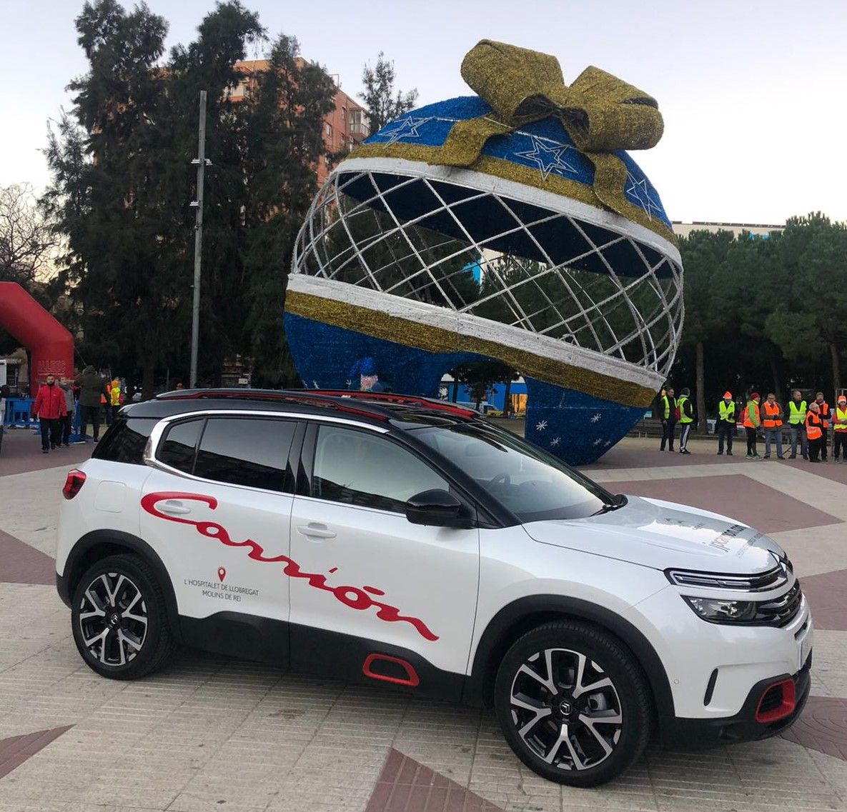 "Citroën JP Carrión en la ""6a Cursa Solidària de Reis"" en Cornellà"
