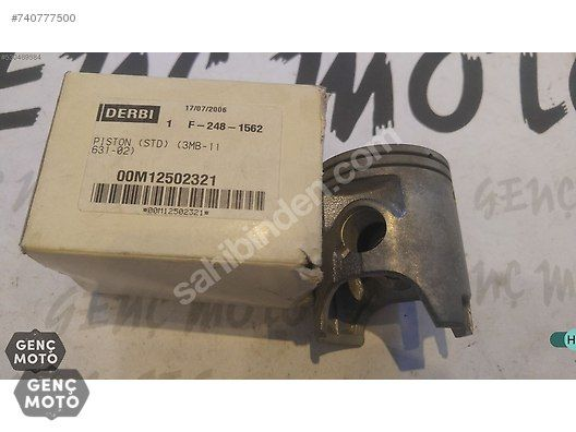 PISTON DERBI GPR 125 2T