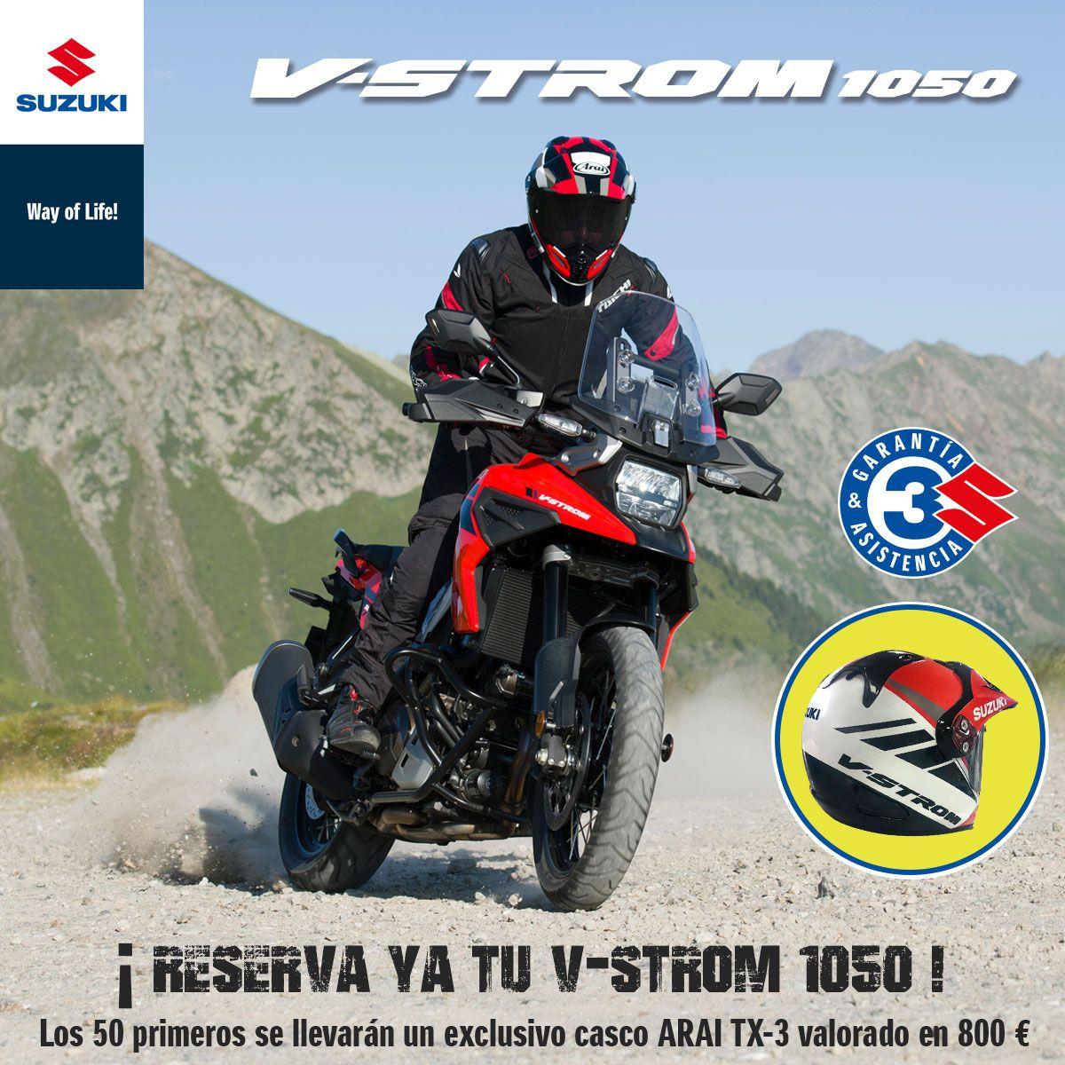 Reserva ya nueva tu Suzuki V-Strom 1050