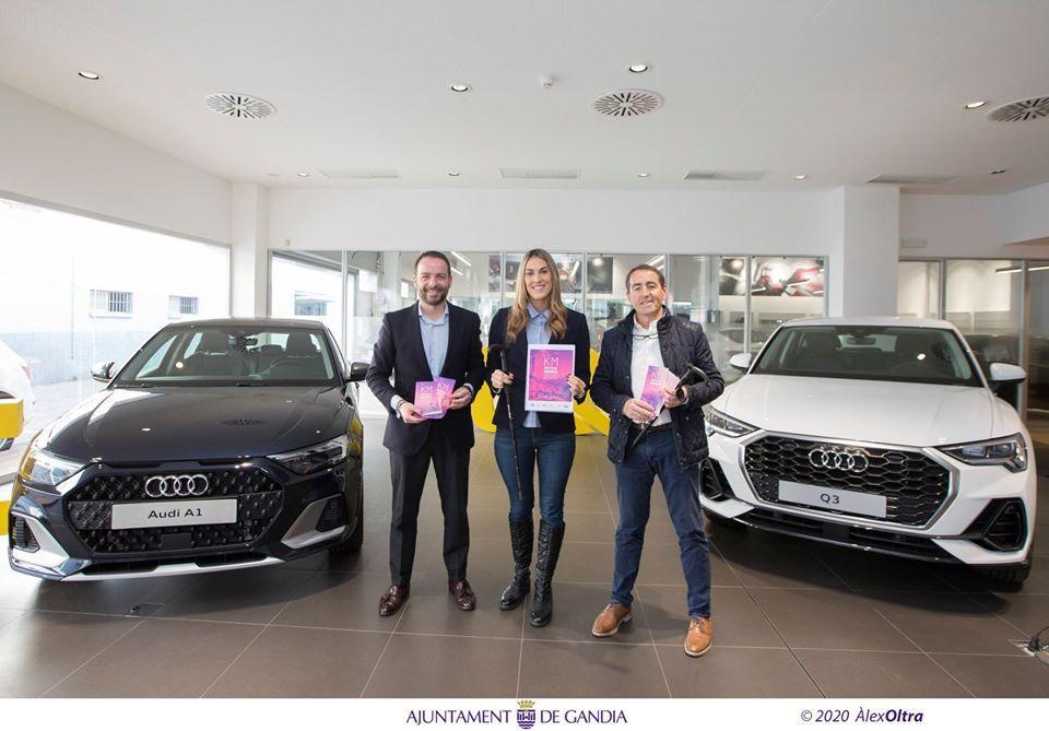 Audi Gandia Motors con el KM Vertical de Gandia de este domingo