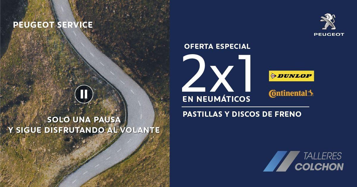 2x1 EN NEUMÁTICOS DUNLOP Y CONTINENTAL + SEGURO