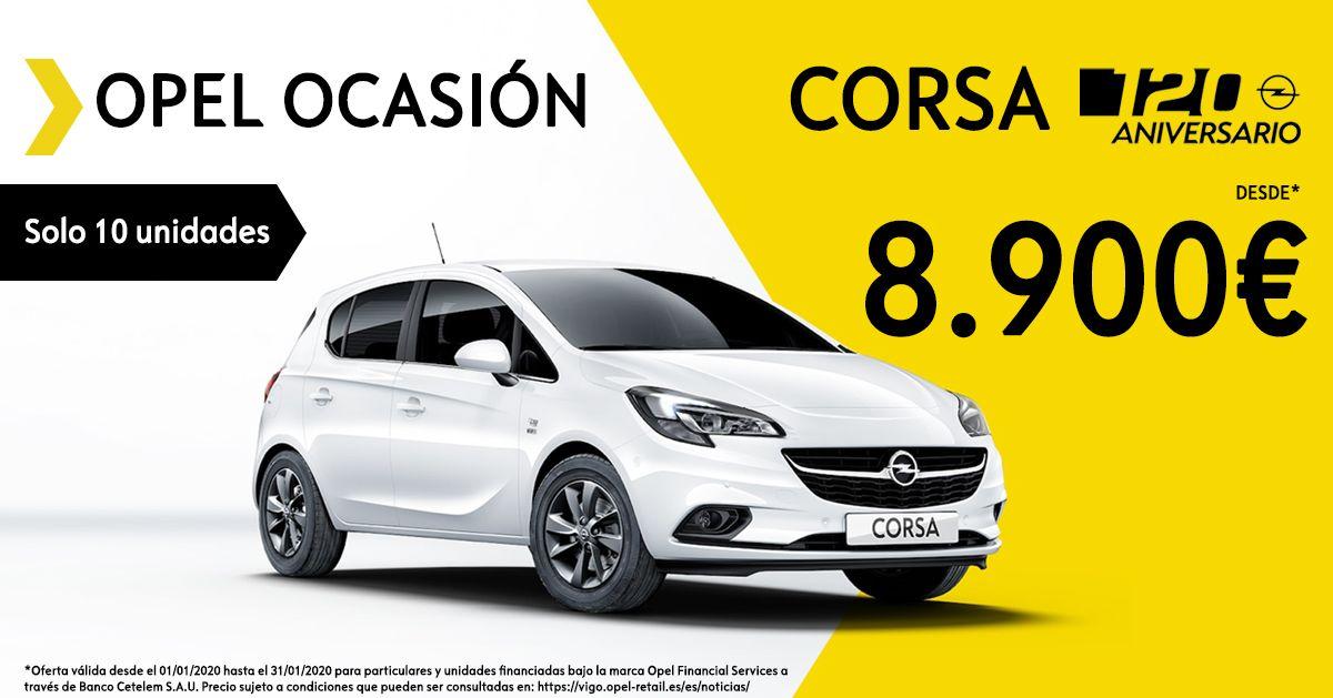 10 unidades del Corsa edición 120 Aniversario desde 8.900€