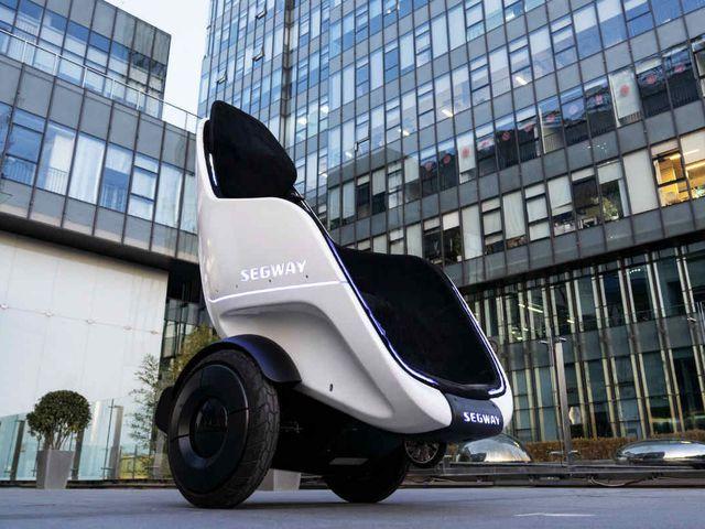 Segway S-Pod: una forma de película para moverte por la ciudad