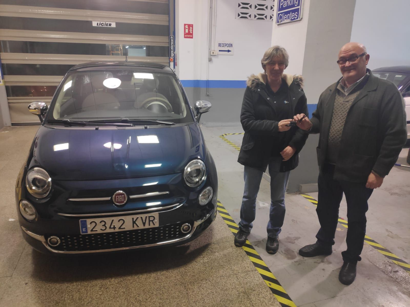 Milautomóviles hace entrega de un Fiat 500 a Concepción
