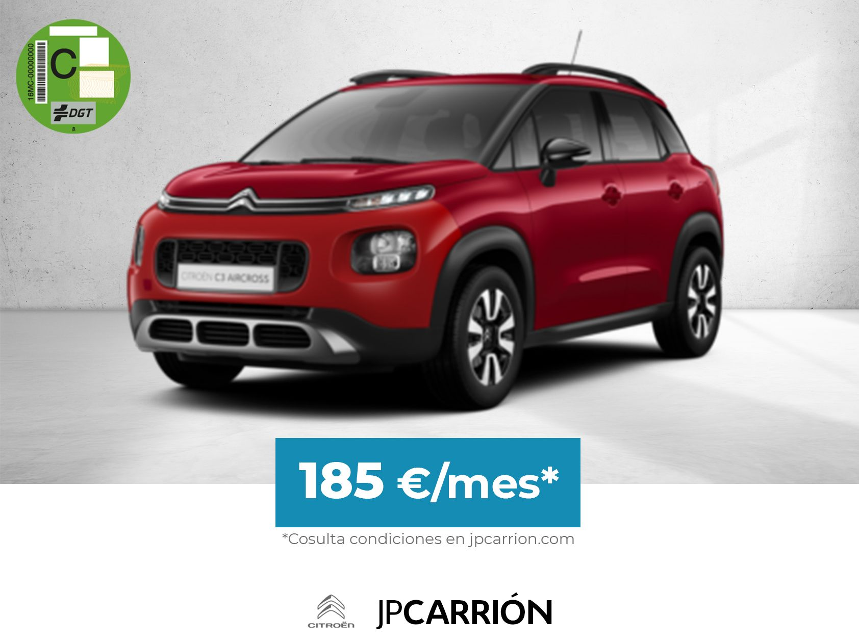 Citroën C3 Aircross por 185€/mes*