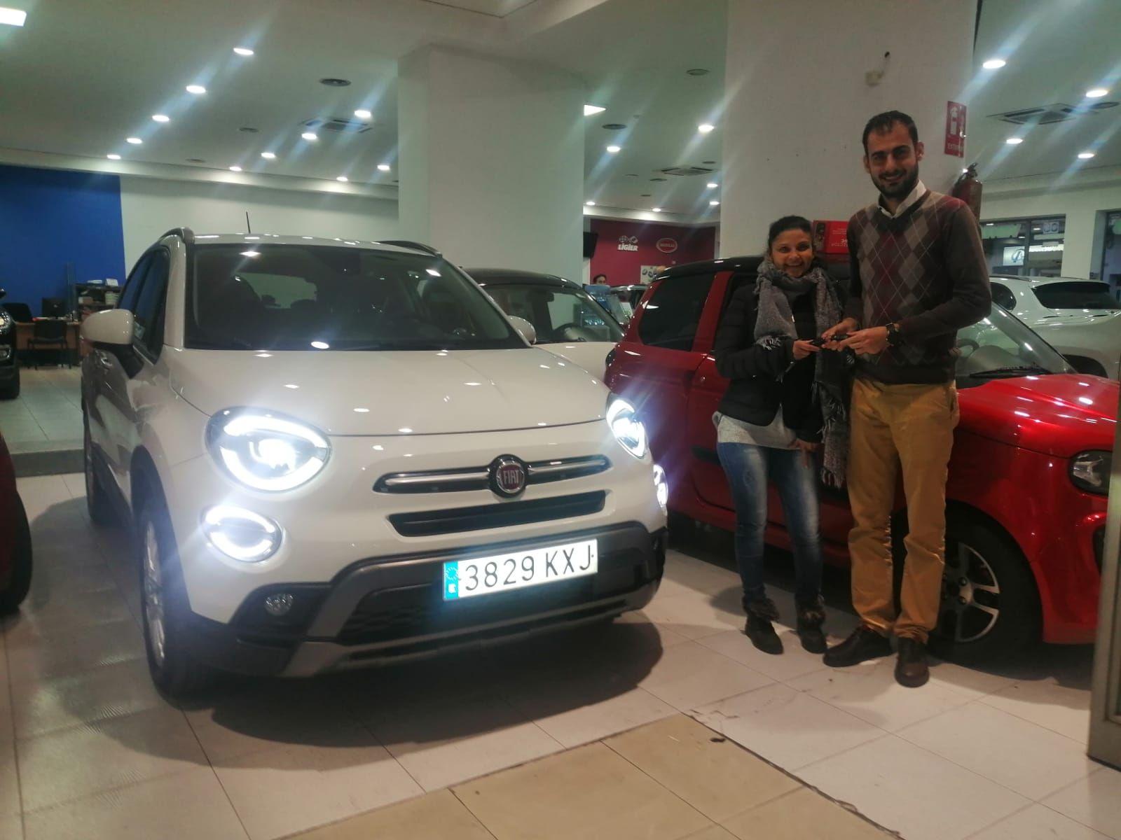Milautomóviles entrega un Fiat 500 X Cross a Soria
