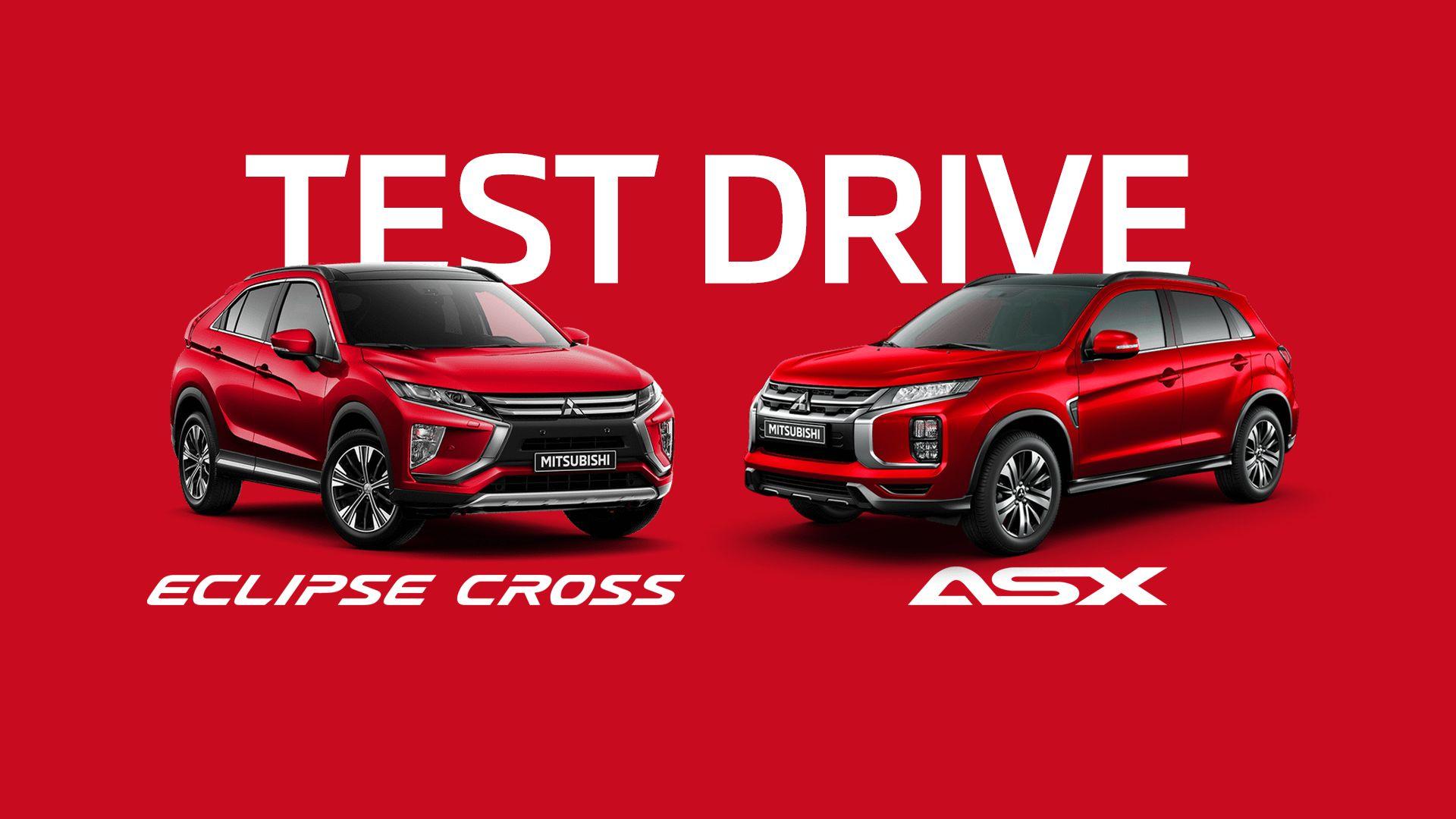 Test Drive Mitsubishi