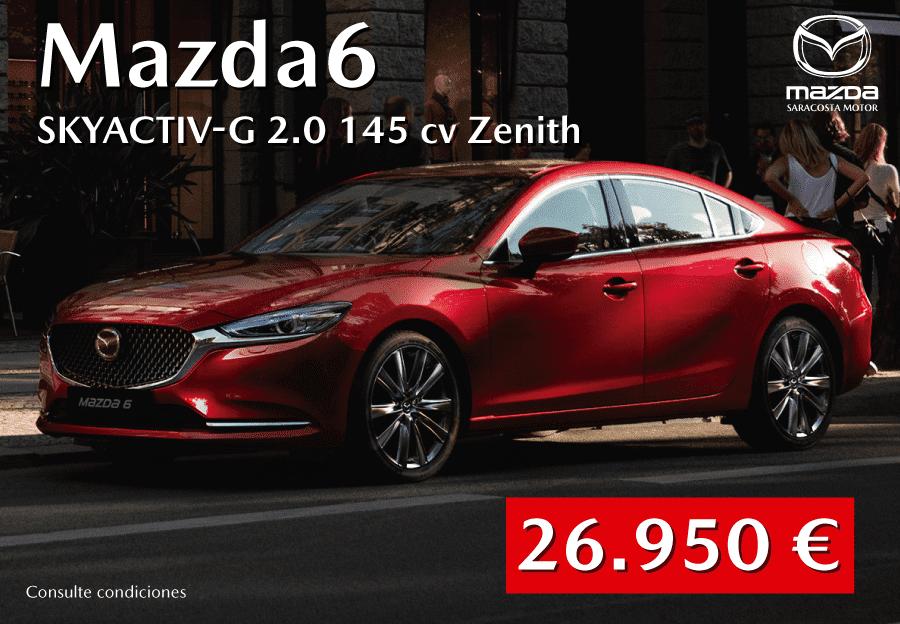 Nuevo Mazda6 por 26.950€