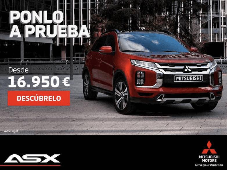 Mitsubishi ASX desde 16.950€