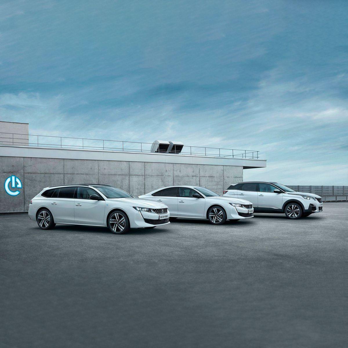 Nueva Gama Peugeot Hybrid