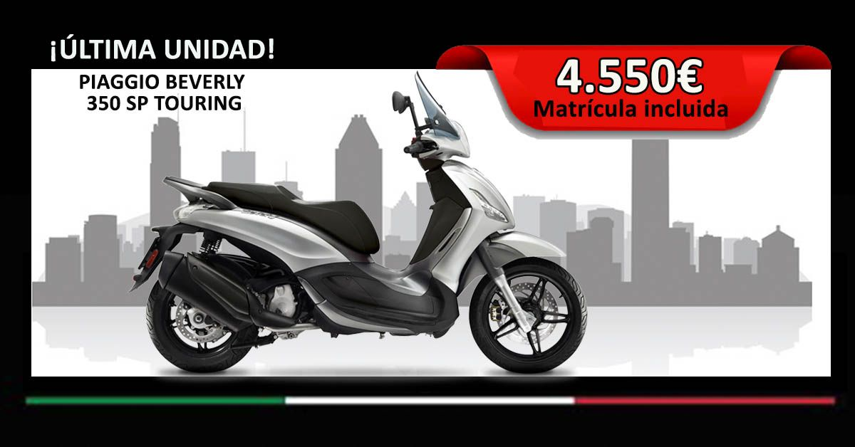 PIAGGIO BEVERLY 350 SP TOURING PLATA