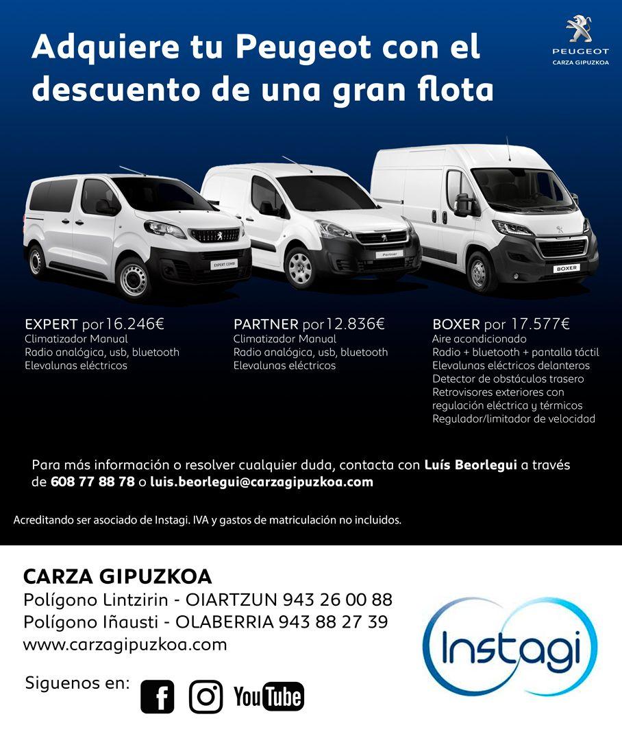 ¡Adquiere tu Peugeot con el descuento de una gran flota!