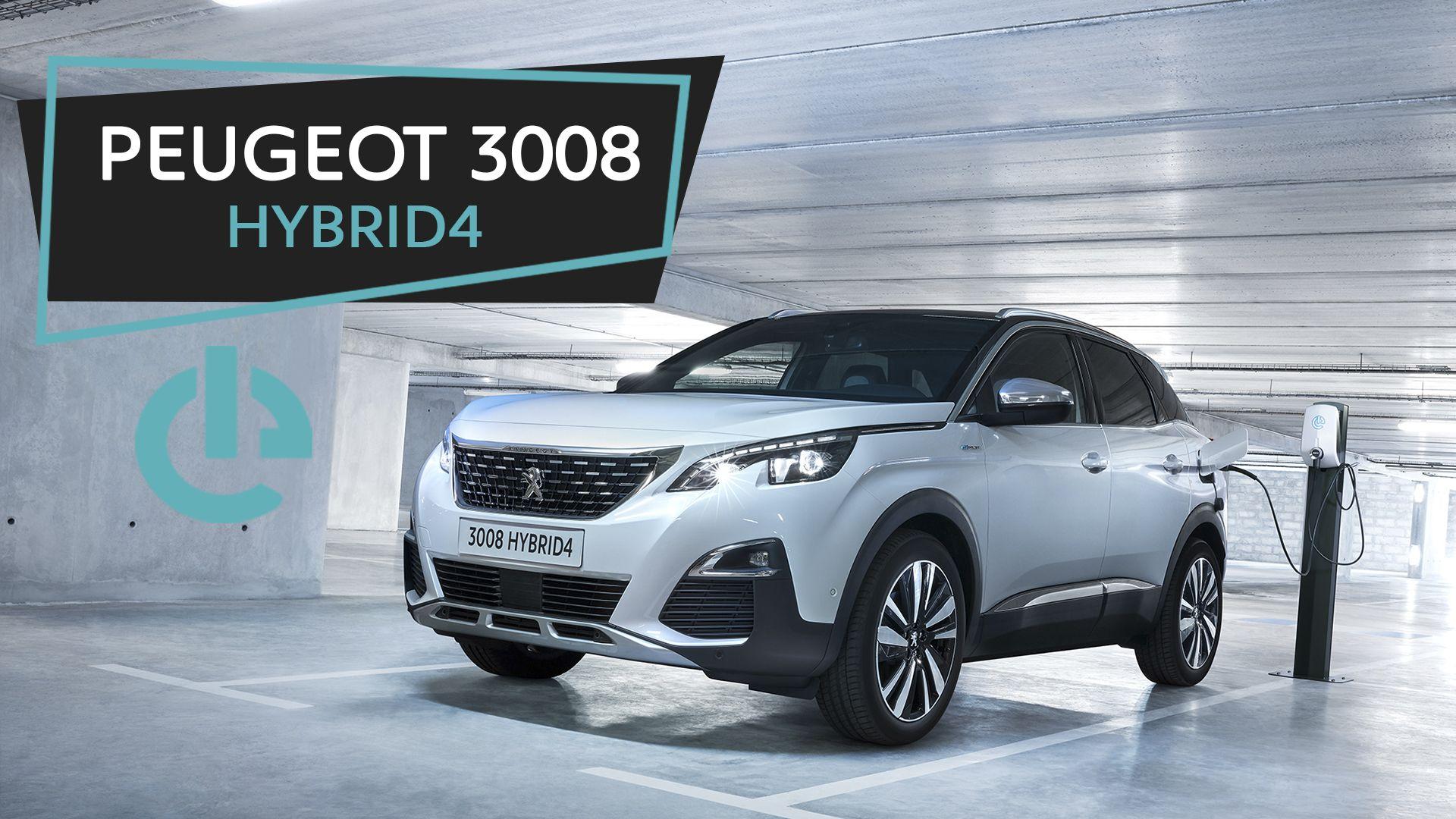Nou Peugeot 3008 HYBRID4 Endollable per només 264€/mes