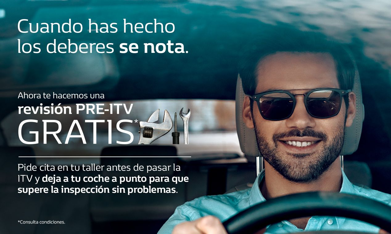 REVISIÓN PRE-ITV GRATIS.