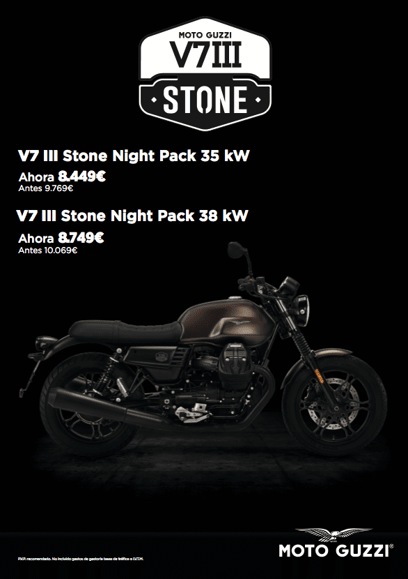 MOTO GUZZI V7III STONE NIGHT PACK