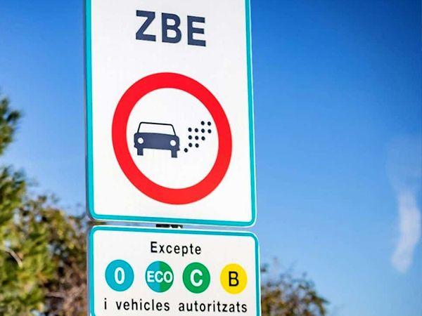 Zona Bajas Emisiones en Barcelona