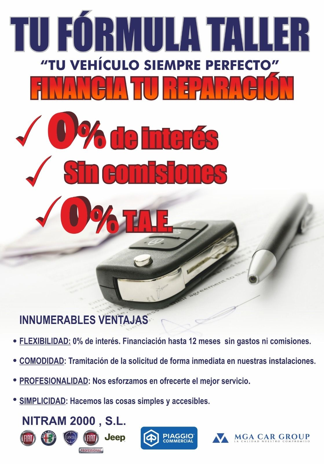 FINANCIACION TALLER
