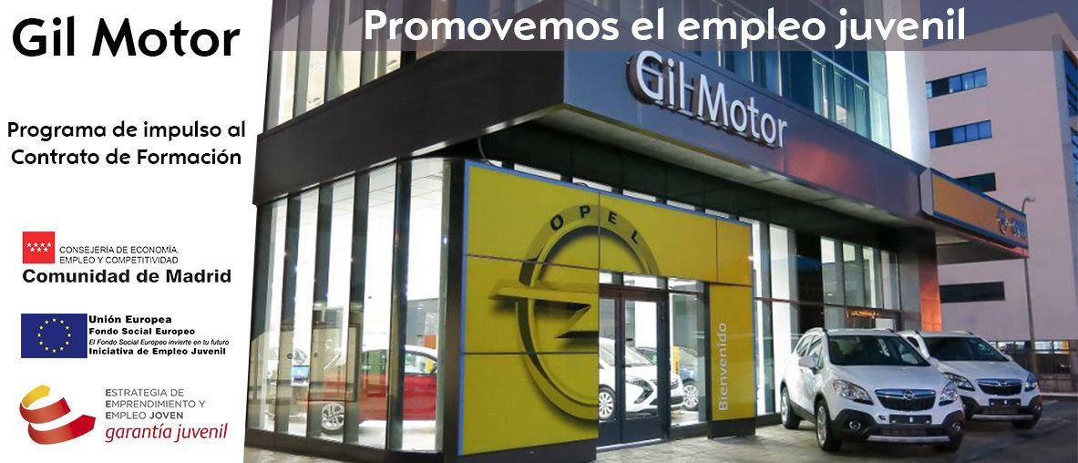Gil Motor promueve el empleo juvenil