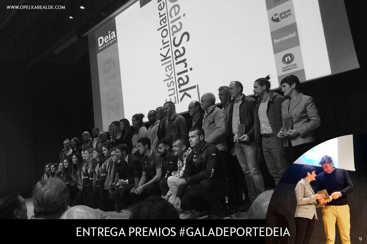 OPEL KAREALDE EN LA GALA DEPORTE DEIA 2020