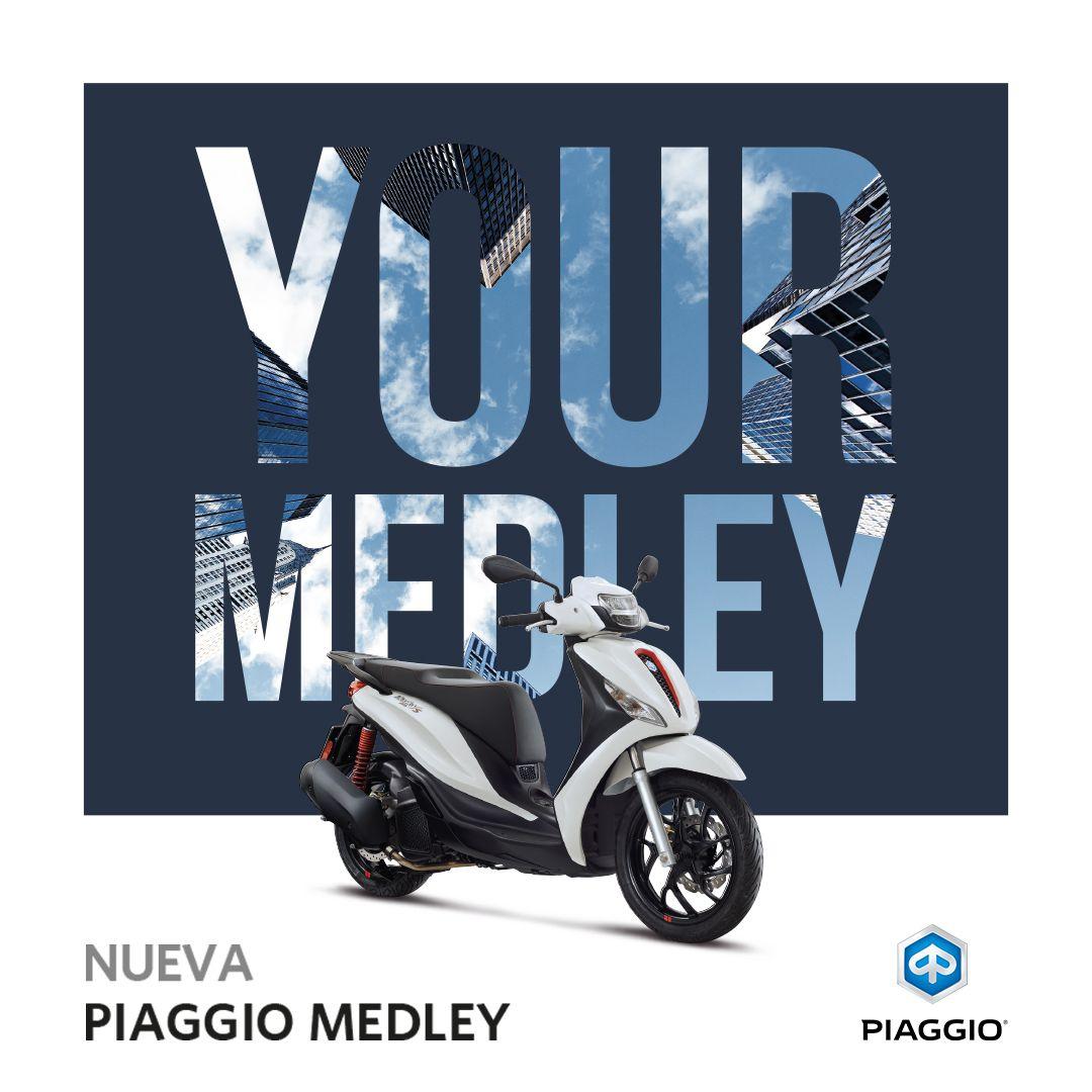NUEVA PIAGGIO MEDLEY