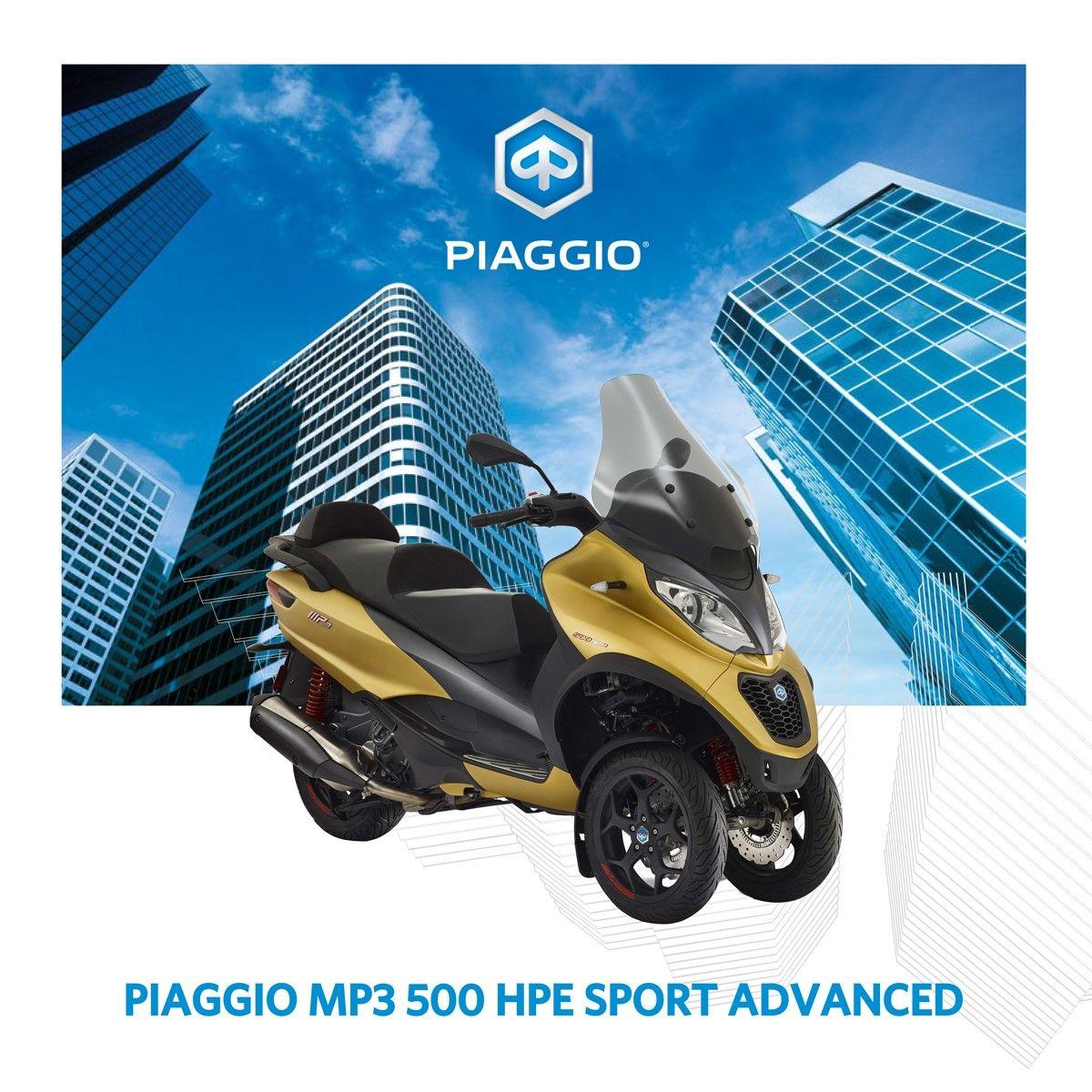 Promoción Mp3 500 hpe Sport Advanced