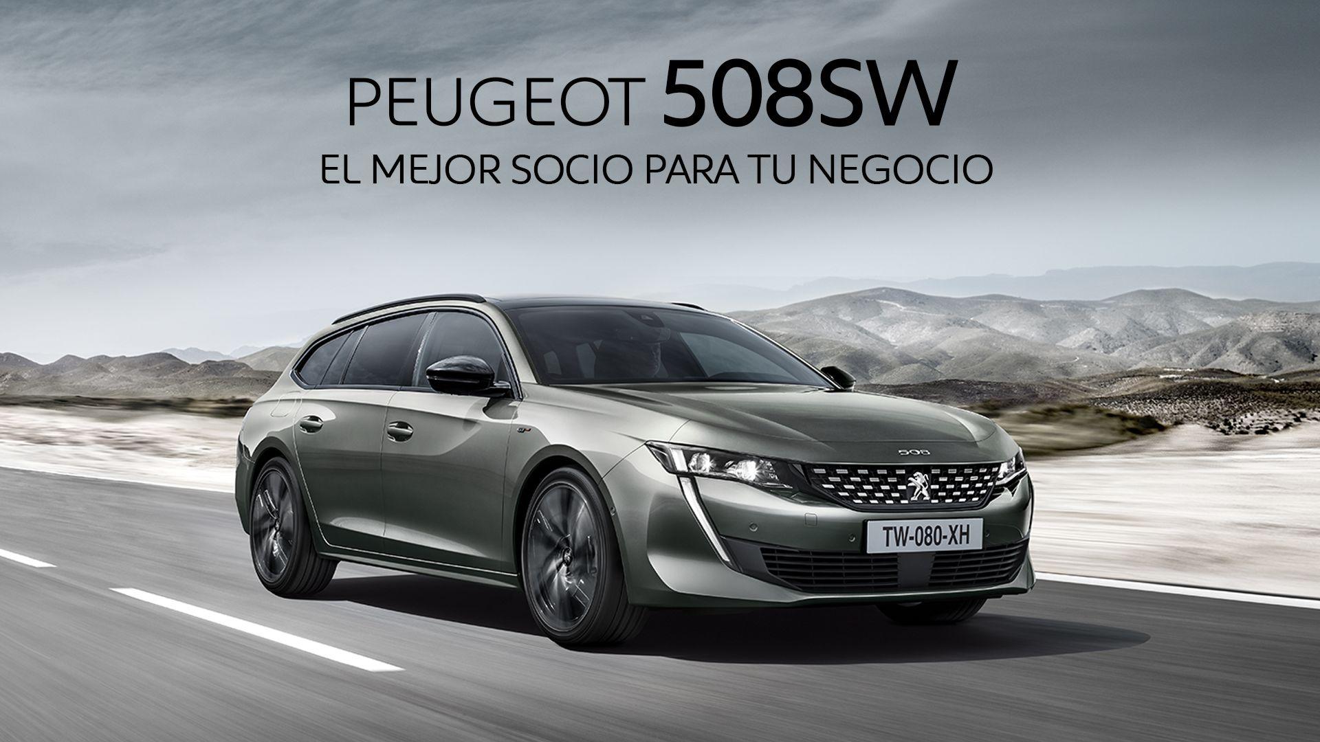 Peugeot 508SW por sólo 378€/mes en modalidad renting para autónomos y empresas