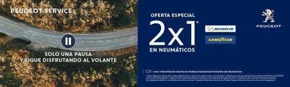 OFERTA NEUMÁTICOS 2X1