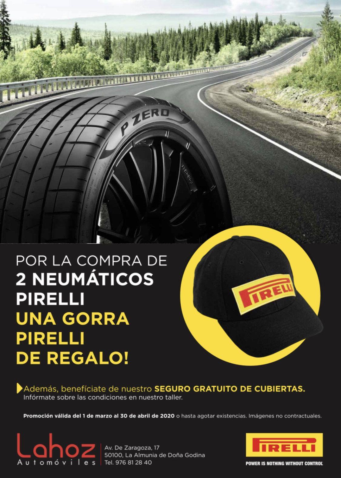Neumaticos Pirelli.