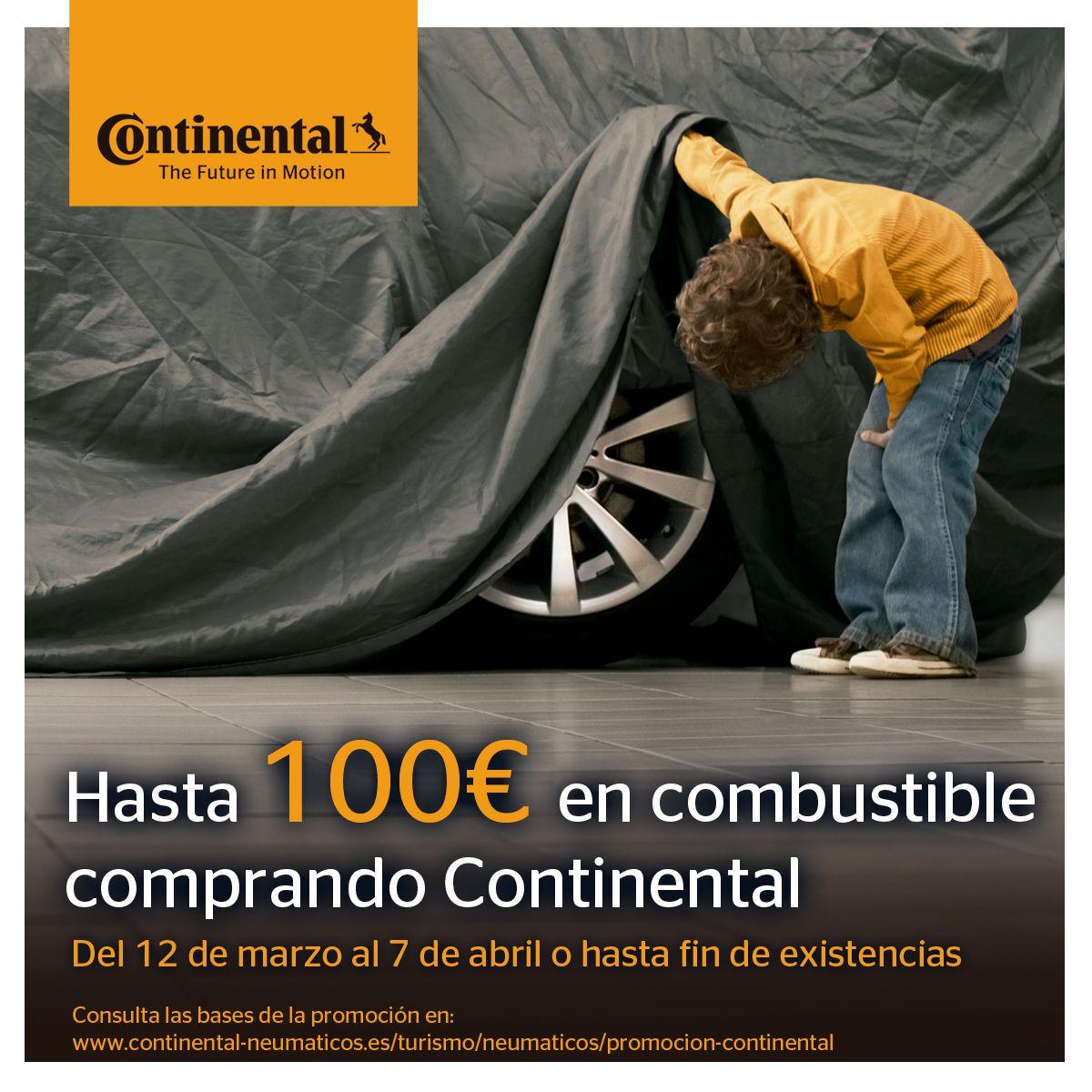 ¡Aprovecha nuestra promoción en neumáticos continental!