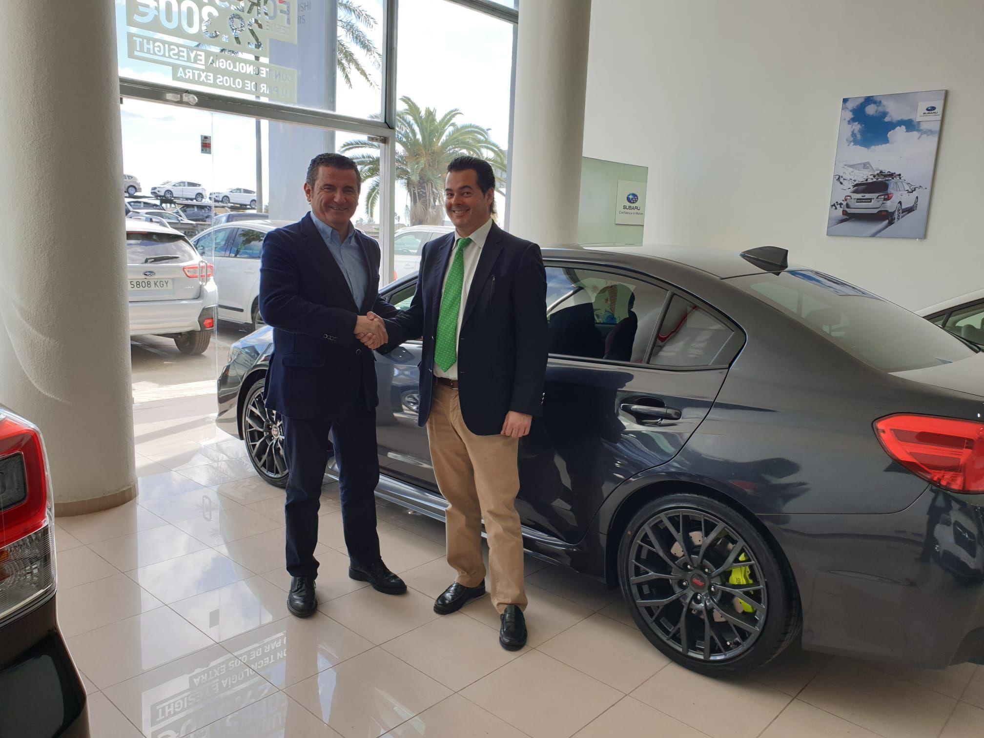 Subaru Valencia entrega su último WRX STI