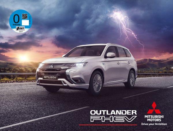 Outlander PHEV desde 36.300€