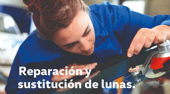 LUNAS - REPARACIÓN DE LUNAS CON MANO DE OBRA E IVA INCLUIDO