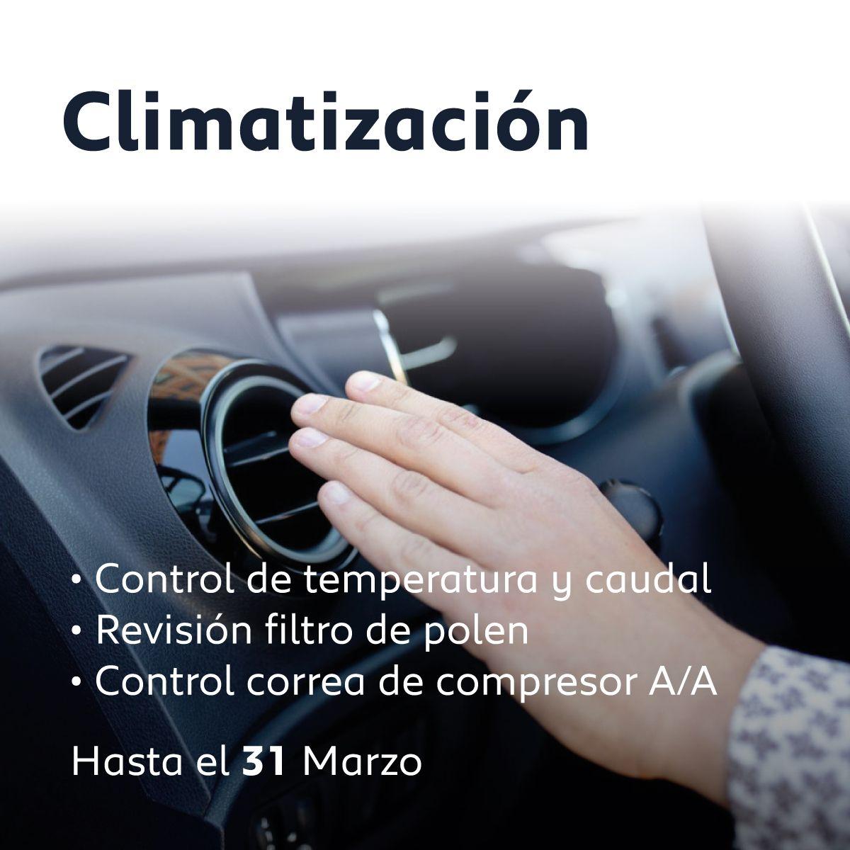 Campaña climatización