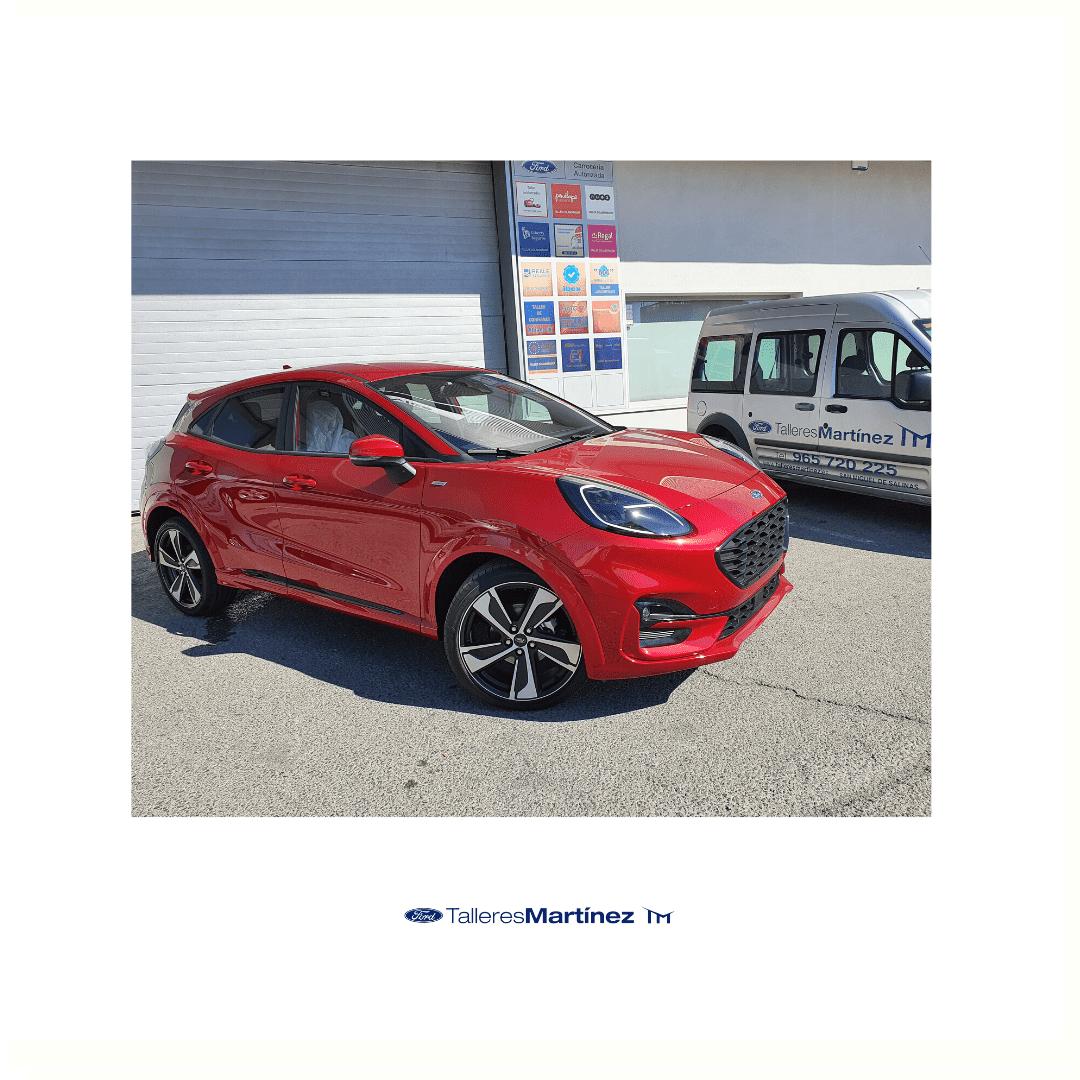 ¿Cómo es el Ford Puma de cerca? Ven a probarlo a Ford Talleres Martínez
