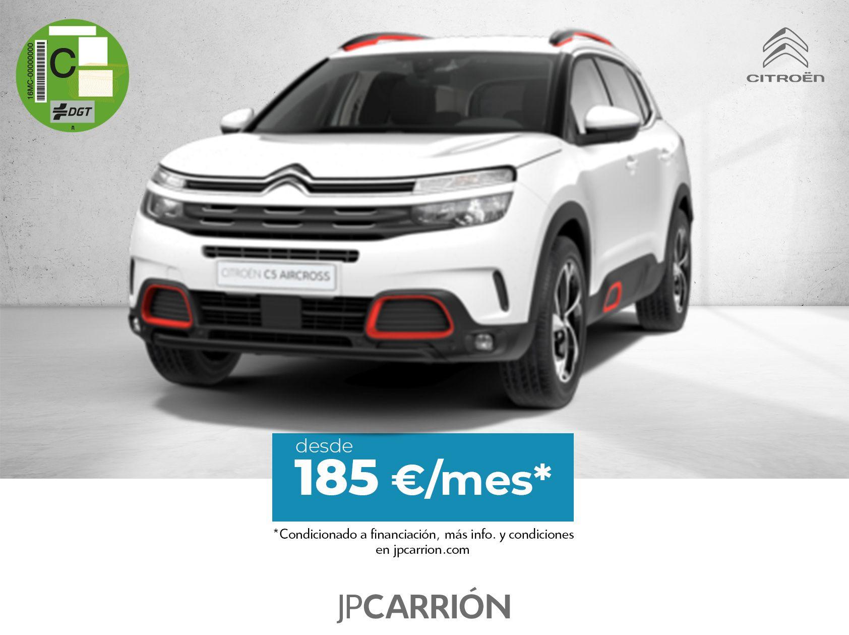 Oferta C5 Aircross desde 185 €/mes*