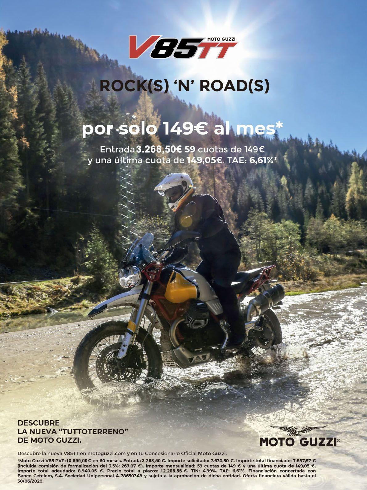 La Moto Guzzi V85 TT puede ser tuya ahora por solo 149 €/mes