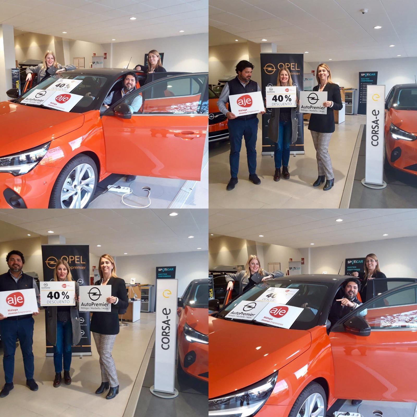 Acuerdo de colaboración Opel Autopremier y AJE