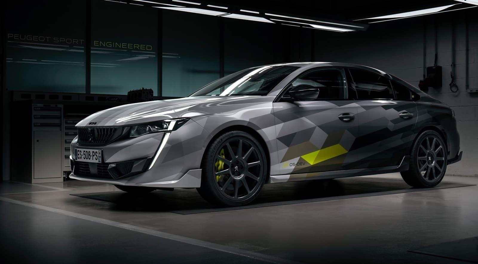 Peugeot 508 PSE: llegará en Otoño de 2020, con 360 CV e híbrido enchufable