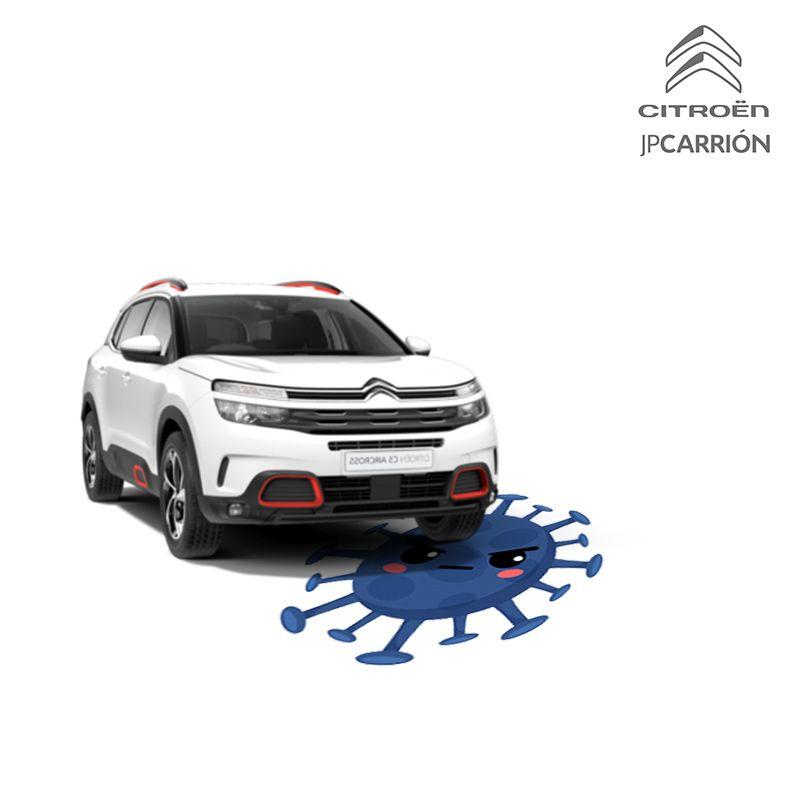 Citroën JP Carrión contra el Covid-19