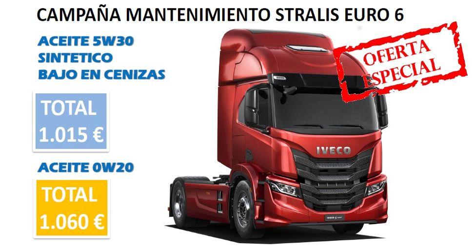 CAMPAÑA MANTENIMIENTO STRALIS EURO 6 M1 CURSOR 13, 11 Y 9 - 2020