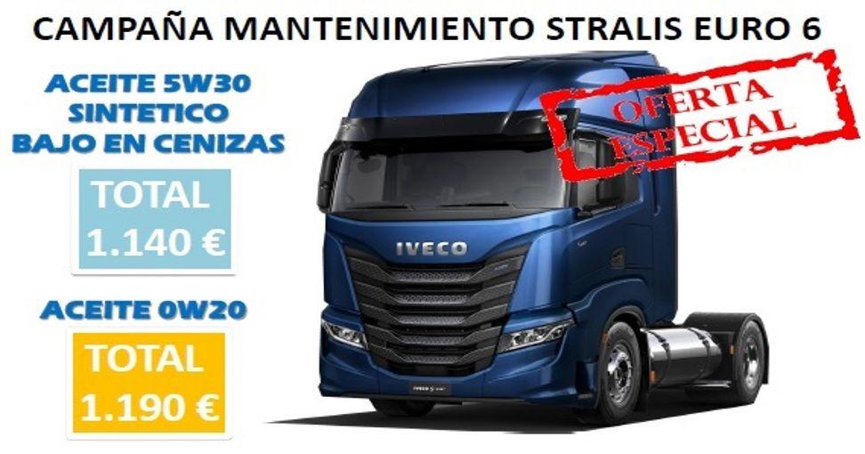 CAMPAÑA MANTENIMIENTO STRALIS EURO 6 M2 CURSOR 11 Y 9 - 2020