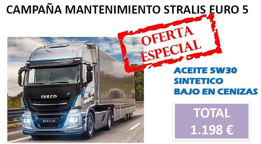 CAMPAÑA MANTENIMIENTO STRALIS EURO 5 M2 CURSOR 10