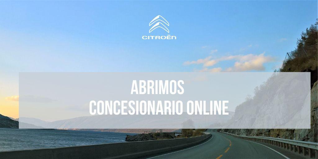 Abrimos nuestro concesionario online