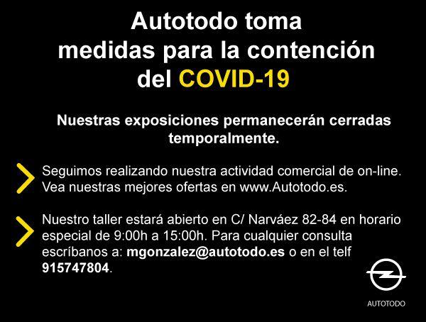 Medidas de contención del COVID-19