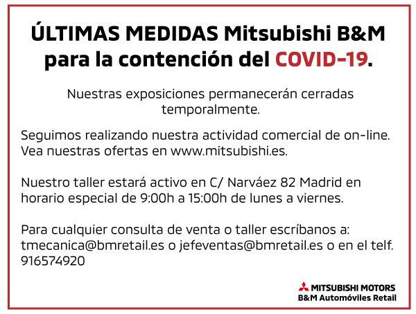 Medidas de contención para el COVID-19