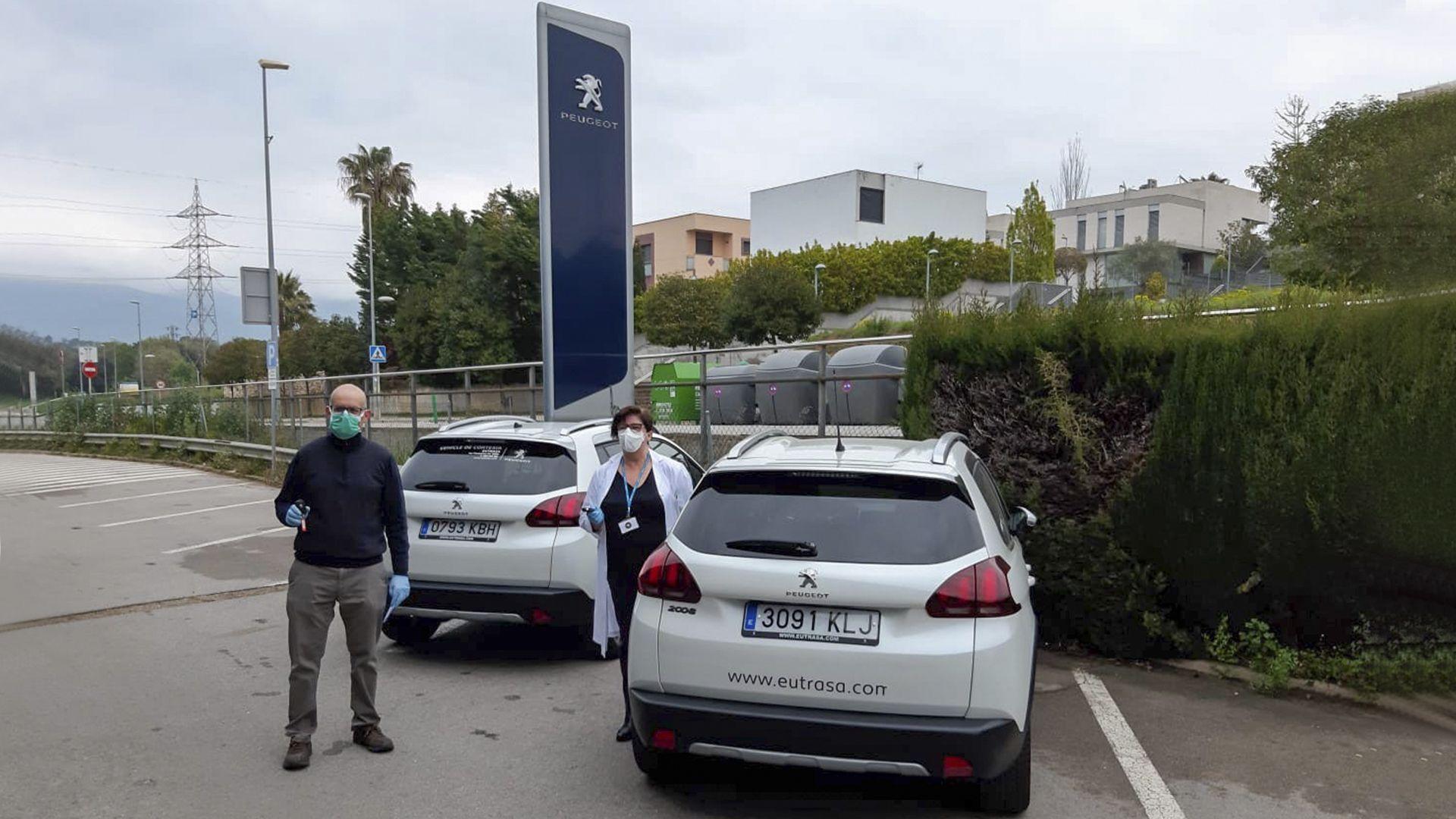 Eutrasa cedeix dos vehicles a l'Ajuntament de Les Franqueses per l'atenció domiciliària del COVID-19